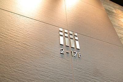 ④1Fエレベーターホール